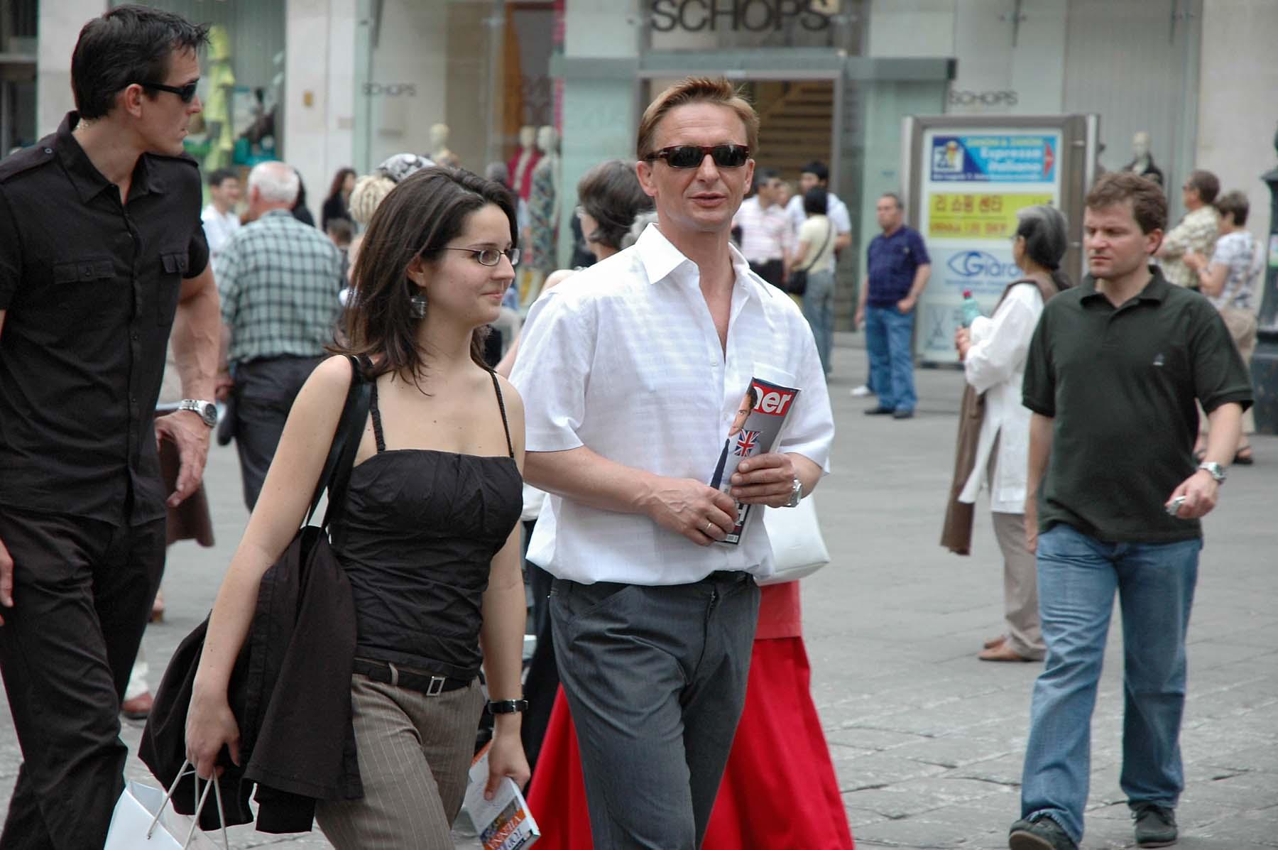 """""""Daniel Craig"""" In Wien, 17. 5. 2008; Photo: Patrick Buchner;"""