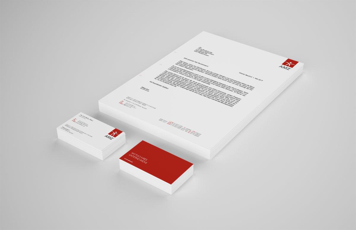 AMZ Briefpapier Mock Up